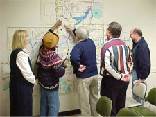 Citizens Involved in Mingo Creek Planning Meeting