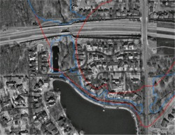 Revised floodplain property analysis