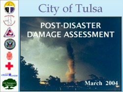 Tulsa Disaster Assessment Training Presentation